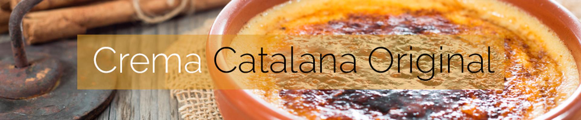 Crema Catalana Original